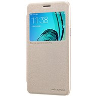 Nillkin Sparkle S-View Gold for Samsung A520 Galaxy A5 2017 - Mobile Phone Case
