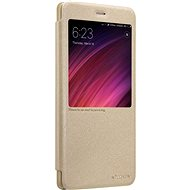Nillkin Sparkle Series Leather Case for Xiaomi Redmi Note 5A Gold - Mobile Phone Case