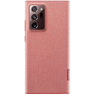 Mobile Phone Case Samsung Ecological back cover made of recycled material for Galaxy Note20 Ultra 5G red - Pouzdro na mobil