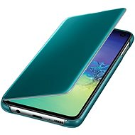 Samsung Galaxy S10e Clear View Cover Green - Mobile Phone Case