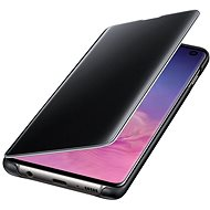 Samsung Galaxy S10 Clear View Cover Black - Mobile Phone Case