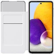 Samsung Flip Case S View for Galaxy A72 White - Mobile Phone Case