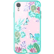 Nillkin Floral Hard Case for Apple iPhone XR Green