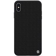 Nylkin Textured Hard Case for Apple iPhone X/XS Black - Mobile Case