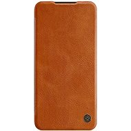 Nillkin Qin Leather Case for Xiaomi Redmi Note 8 Pro Brown - Mobile Phone Case