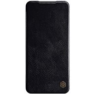 Nillkin Qin Leather Case for Xiaomi Redmi Note 9 Pro/Note 9S, Black - Mobile Phone Case