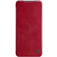 Mobile Phone Case Nillkin Qin Leather Case for Xiaomi Redmi Note 9 Pro/Note 9S, Red - Pouzdro na mobil