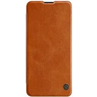 Mobile Phone Case Nillkin Qin Leather Case for Samsung Galaxy A41 Brown - Pouzdro na mobil