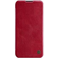 Mobile Phone Case Nillkin Qin Leather Case for Huawei P40 Lite, Red - Pouzdro na mobil