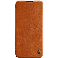 Mobile Phone Case Nillkin Qin Leather Case for Huawei P40 Lite Brown - Pouzdro na mobil