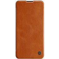 Nillkin Qin Leather Case for Huawei P40 Pro Brown - Mobile Phone Case