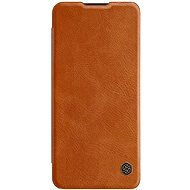 Nillkin Qin Leather Case for OnePlus Nord, Brown - Mobile Phone Case