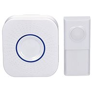 Solight Wireless Doorbell, Socket, 250m, White, Learning Code (1L52) - Doorbell