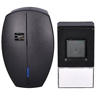 Solight Wireless Doorbell, 120m, Black, Learning Code (1L56B) - Doorbell