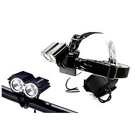 Solight Rechargeable LED bike and headlamp - Light