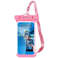 "Seaflash Waterproof TPU Case for Smartphones up to 6.5"", Pink - Mobile Phone Case"