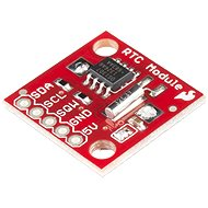 SparkFun real-time clock (DS1307)