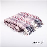 MATĚJOVSKÝ Scottish plaid FOREST - Blanket
