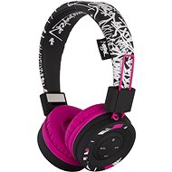 Buxton BHP 7502 STREET ART PINK - Wireless Headphones