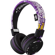 Buxton BHP 7503 STREET ART PURPLE - Wireless Headphones