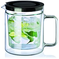 SIMAX Double-walled 1.1l TWIN Teapot with Stainless-steel Filter - Teapot