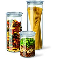 SIMAX Set of Glass Jars, 3pcs, 0.5l, 0.8l, 1.4l