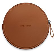 Simplehuman Sensor Compact Zip Case Brown Case with Zipper for Pocket Mirrors ST9001 - Case