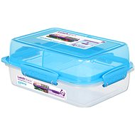 Sistema Lunch Stack Rectangle To Go Blue Online 1.8l  (4) - Container
