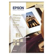 Epson Paper Premium Glossy Photo 10x15 40 sheets - Photo Paper
