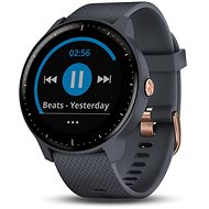 Garmin vívoactive 3 Music Granite Blue Rose Gold - Smartwatch
