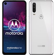 Motorola Moto One Action White - Mobile Phone