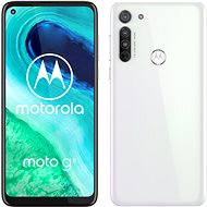 Motorola Moto G8 64GB Dual SIM White - Mobile Phone