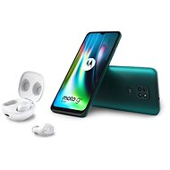 Motorola Moto G9 Play 64GB Green + Moto Buds - Mobile Phone