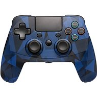 SNAKEBYTE GAME: PAD 4 S WIRELESS CAMO BLUE