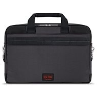Solo Mission Briefcase Black/Red 15.6""