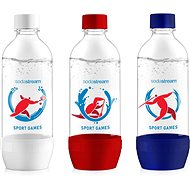 SODASTREAM JET 3 x 1l SPORT GAMES - Replacement Bottle