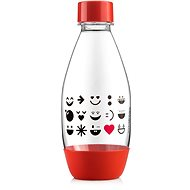 SODASTREAM Children's Bottle 0.5l Smiley Red - Replacement Bottle
