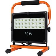 LED outdoor reflector with stand, 30W, 2550lm, 5000K, cable with plug, AC 230V - LED Reflector