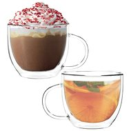 Aramoro Coffee, Double-walled, 350ml, Set of 2 pcs - Glass Set