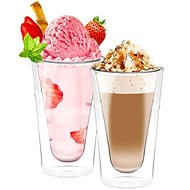 Aramoro Latté, Double-walled, 350ml, 2 pcs - Glass Set