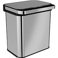 Home Contactless Waste Bin with Ozoniser 24L (12+12) - Waste Bin