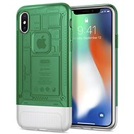Spigen Classic C1 Sage iPhone X - Mobile Case