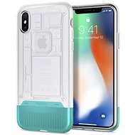 Spigen Classic C1 Snow iPhone X - Mobile Case