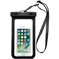 "Spigen Velo A600 8"" Waterproof Phone Case, Black - Mobile Phone Case"