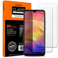 Spigen Glas.tR SLIM for Xiaomi Redmi Note 7,  Pack of  2 - Glass protector