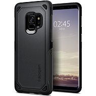 Spgien Hybrid Armour Graphite Grey for the Samsung Galaxy S9 - Mobile Case