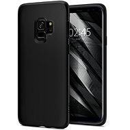 Spider Liquid Crystal Matte Black Samsung Galaxy S9
