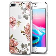 Spigen Liquid Crystal Blossom Flower iPhone 7 Plus/8 Plus - Mobile Case