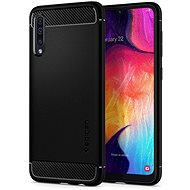 Spigen Rugged Armor Black Samsung Galaxy A50 - Mobile Case