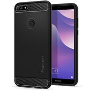 Spigen Rugged Armor Black Huawei Y7 Prime 2018 - Mobile Case